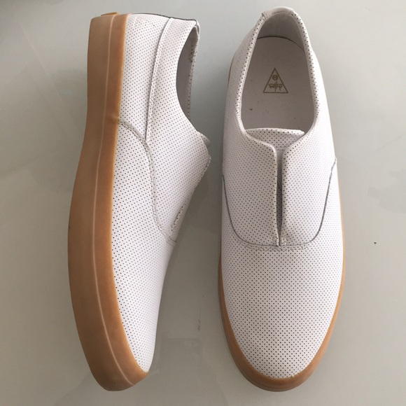 HUF Shoes | Huf Dylan White Leather